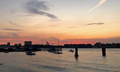 Sunset Sky - Hudson River Park, New York City