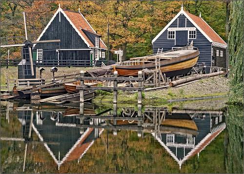 Marken boatyard