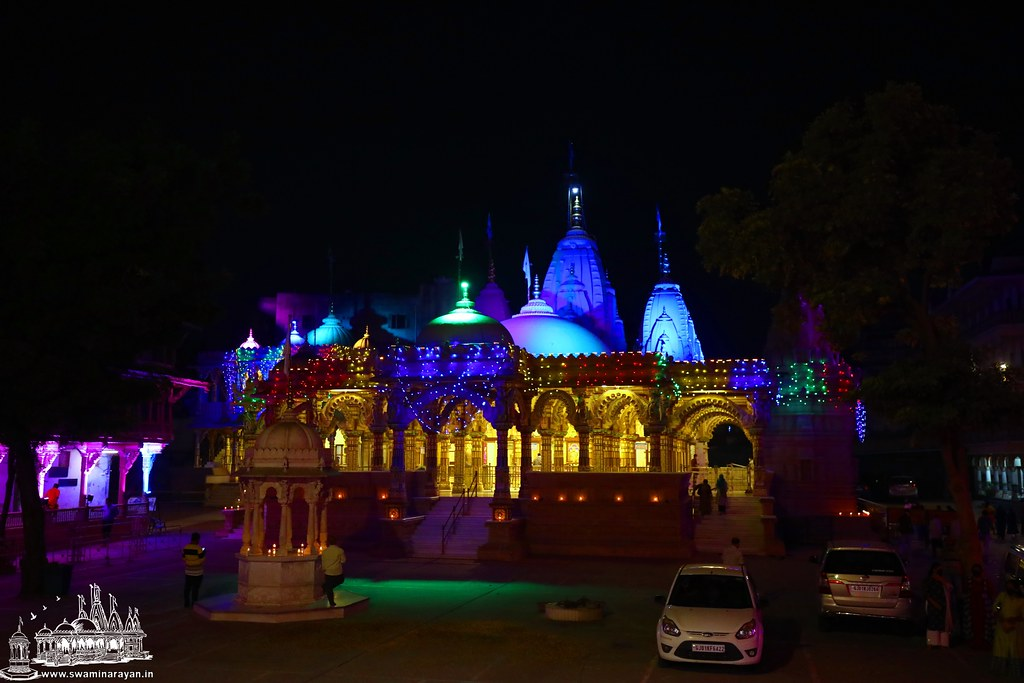 Light Decorations - Kalupur Mandir