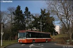 Irisbus Citélis  12 – Setram (Société d'Économie Mixte des TRansports en commun de l'Agglomération Mancelle) n°120