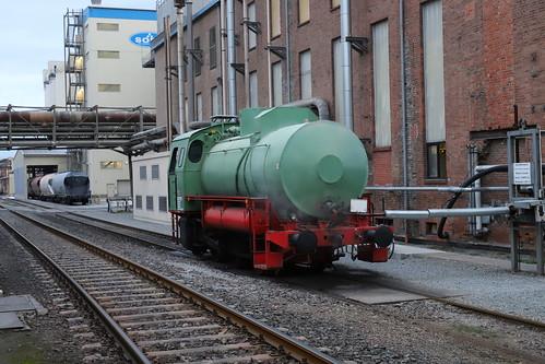 Sodawerke Staßfurt Dampfspeicher Lok 4, Staßfurt-Nord