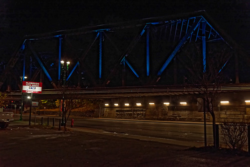 Lighted Bridge