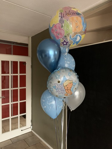 Ballonboeket Baby Geboorte It's a Boy  Babyshower