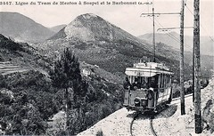 Trams de Menton à Sospel (ligne disparue) France
