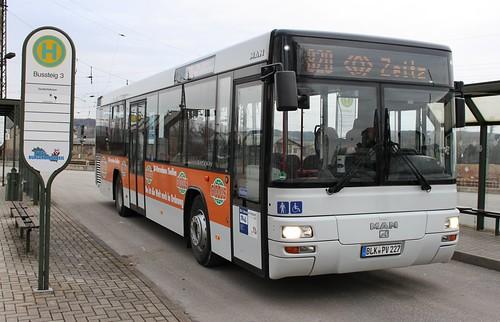PVG Burgenlandkreis BLK-PV 227 (MAN EL 283