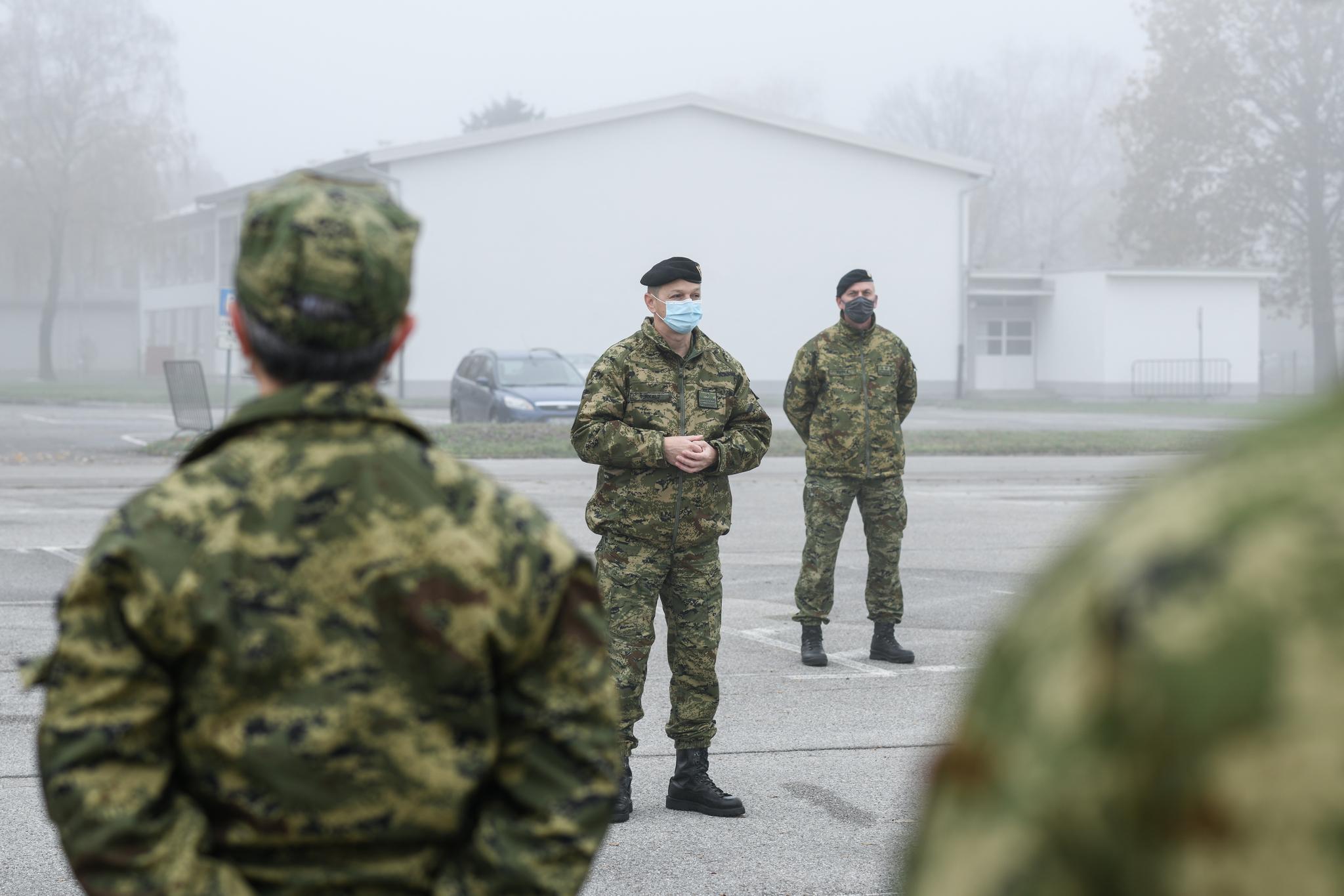 Ispraćen 34. hrvatski kontinegnt u NATO operaciju KFOR na Kosovu