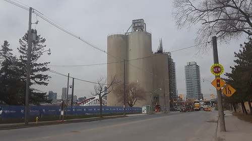 Essroc cement silo, a Quantex, a Heritage structures to be retained when Villiers Island is carved from Toronto's Portlands, 2020-11-18 -a