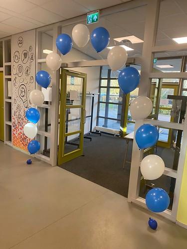Heliumboog Comenius College Krimpen aan den IJssel