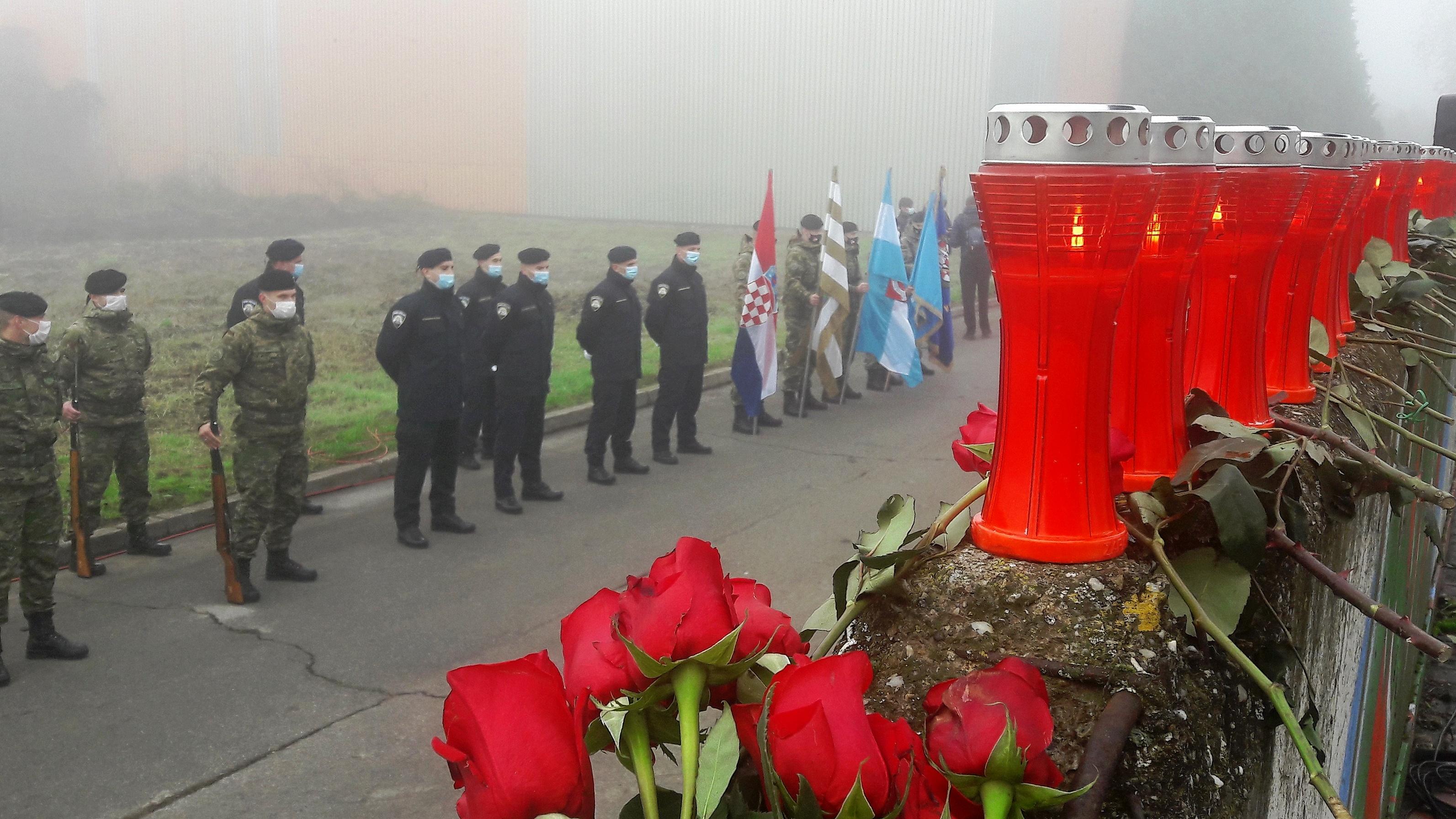 Obilježena 29. obljetnica stradanja vukovarske gradske četvrti Borova naselja