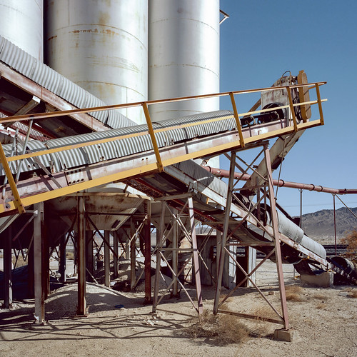 industrial decline. mojave desert, ca. 2016.