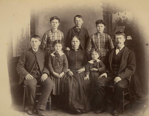 William Haymond Powers Family Portrait, 1888