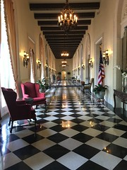 Westchester Country Club 'Black & White Foyer' 2020