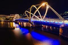 Melbourne Night Bridge