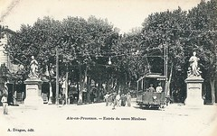 Trams d'Aix en Provence (ligne disparue) France