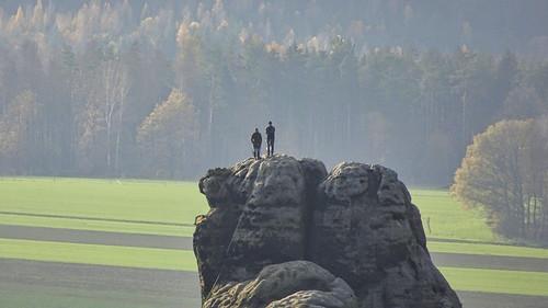 Gipfelglück am Meurerturm ( Schrammsteine)
