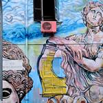Torpignattara: Via Pietro Rovetti;  Murale di Carlos Atoche - https://www.flickr.com/people/82911286@N03/