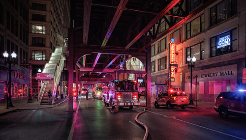 On fire, Chicago