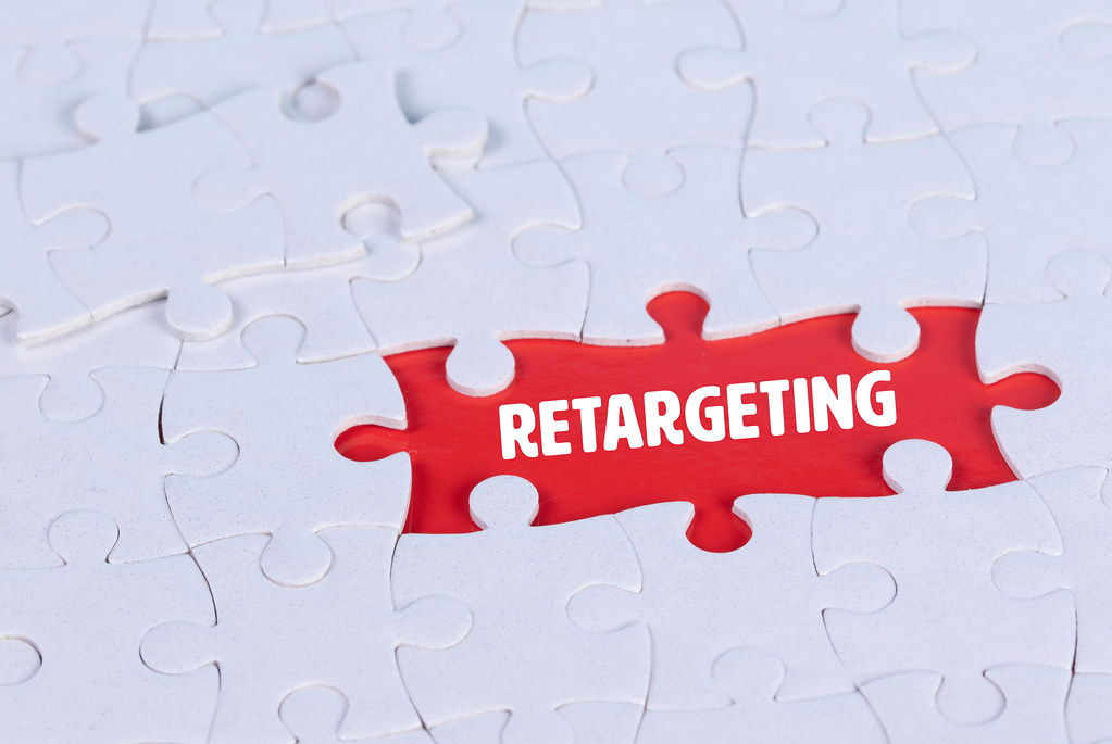 Missing puzzle pieces with a Retargeting text