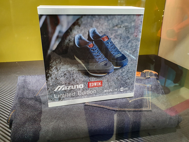 Photo:Edwin x Mizuno colab, Osaka, 20191112 By G · RTM