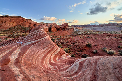 Sunset at Fire Wave - Valley of Fire State Park, Nevada