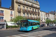 Heuliez Bus GX 127 L  -  Béziers, beeMob