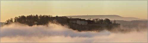 Festung Königstein und Hoher Schneeberg