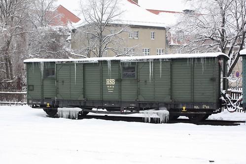 HSB: Gerätewagen 99-09-78 des Hilfszuges in Wernigerode Westerntor