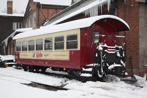 HSB: Personenwagen KB 900-435 in Wernigerode Westerntor