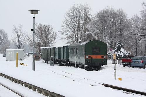 HSB: Hilfszug in Wernigerode Westerntor