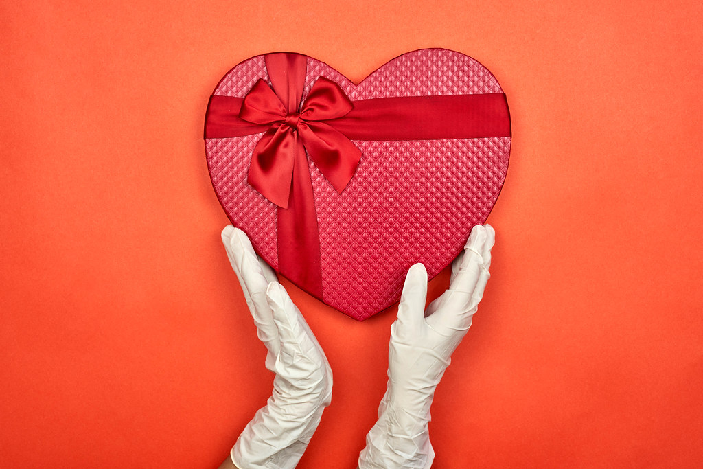 Celebrating Valentine's day during the coronavirus outbreak