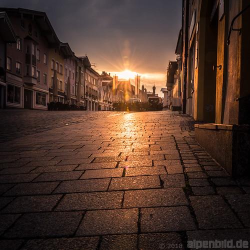 6.55 Uhr - Marktstraße Bad Tölz