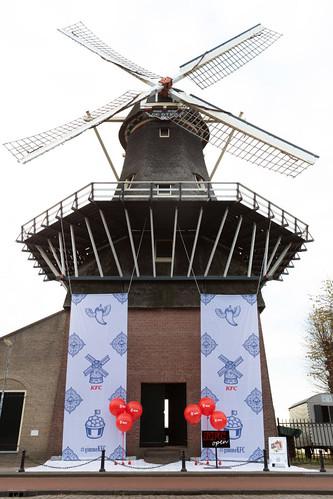 Cloudbuster Rond Opening KFC De Molen Rotterdam Kralingse Plas