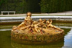 Château de Versailles : le bassin de Cérès