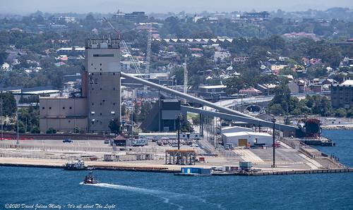 Cement Australia wharf, White Bay