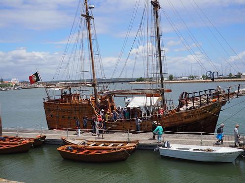Santa Bernada docked