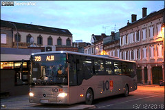 Mercedes-Benz Intouro – SPL D'un Point À l'Autre / liO (Lignes Intermodales d'Occitanie) - Photo of Albi