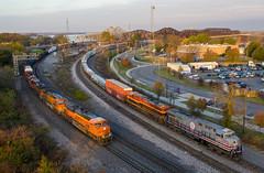 <S/B> BNSF Train & UP Train MNLCN