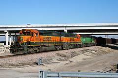 BNSF 7301 - Farmers Branch TX