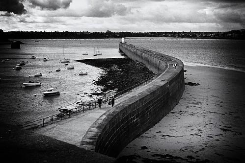 Saint-Malo /  Môle des Noires
