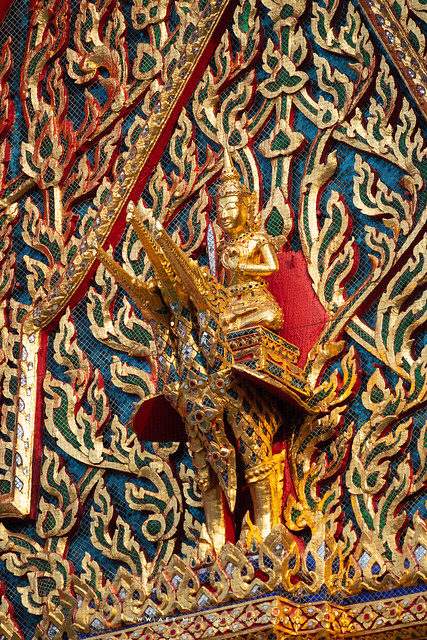 Brahma on Swan, Wat Hong Rattanaram