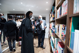 Opening of TV5 MONDE Francophone bookstore