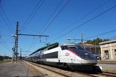 Alstom TGV Réseau-Duplex n°603  -  Gare de Béziers
