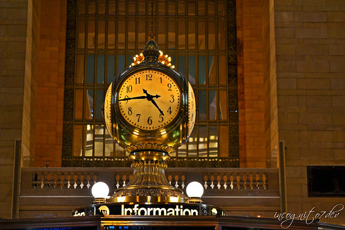 Grand Central Station Clock Midtown Manhattan New York City NY P00720 DSC_0717