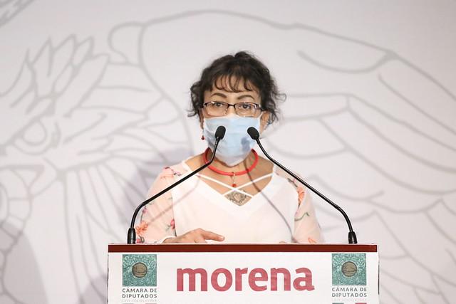 10/11/2020 Conferencia De Prensa Diputada Edith Castañeda