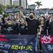 Taiwan US Pork Protes 中天老闆 蔡衍明、周錫瑋