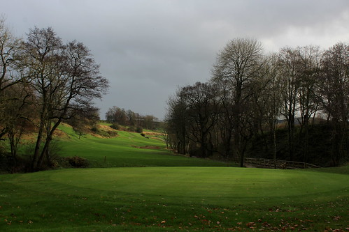 Corner of Skipton Golf Course