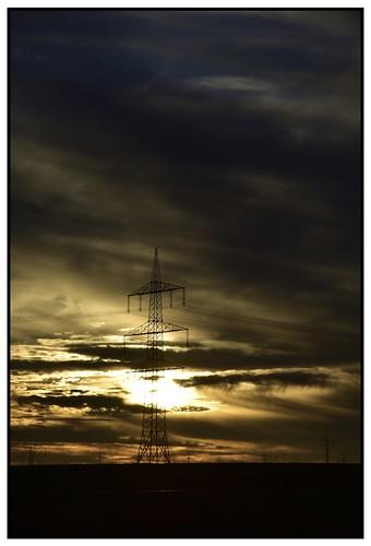 Powerful Sunset I...