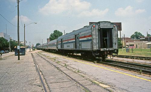 Amtrak No. 80 Leaving Rocky Mount