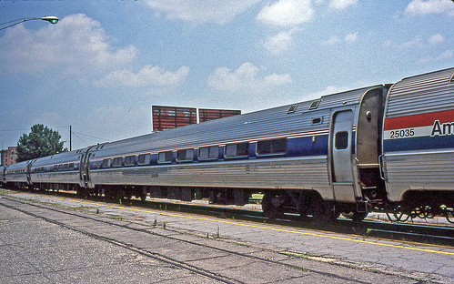 Amtrak's Carolinian in Rocky Mount