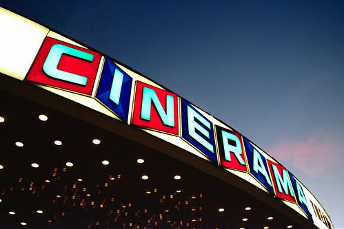 cinerama. hollywood, ca. 2010.